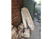 Yorkshire Stone - *New Price* Lintels and wall Stone pieces