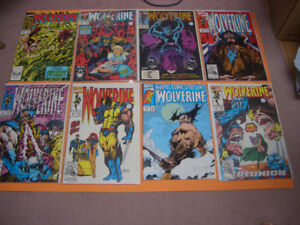 (14) MARVEL WOLVERINE COMICS FOR SALE 1990S