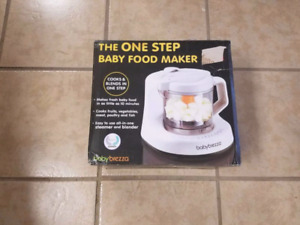 Just Like New Baby Breeza Baby Food Processor  We barely used as