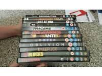 12 dvd's