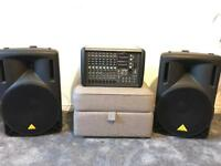 Disco/Karaoke/Band PA equipment