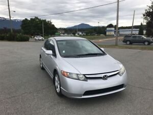 2006 Honda Civic LX A/C, FWD, KEYLESS ENTRY