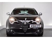 ALFA ROMEO MITO 0.9 TWINAIR SPORTIVA 3d 105 BHP (black) 2014