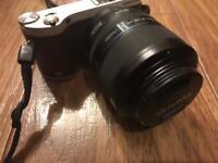 Samsung nx300 camera plus 60mm f2.8 essa lens