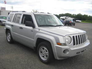 2008 Jeep Patriot +2 YEAR WARRANTY+ CERTIFICATION = YOU WIN!