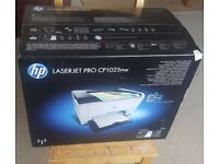 BRAND NEW laserjet pro Color cp1025nw With builtin Wifi & Network port & USB port also