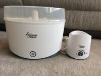 Tommee Tippee electric steam steriliser and bottle warmer