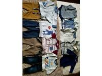 Newborn boys outfits clothes bundle