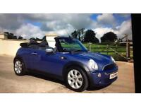 Mini one convertible only 53,000 miles bargain