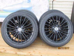 VERY SPORTY BLACK MAGS WITH (SUMMERS)TIRES