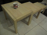 Nest of tables, good clean condition