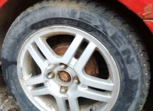 REDUCED-Ford Focus 15 inch Tires – 195 60 R15