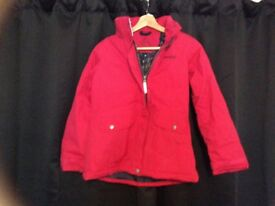 Regatta waterproof girls jacket age 11-12