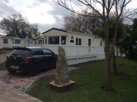 """Static Caravan Holiday Home at """"Foxhunter Park """" Monkton, Kent."""