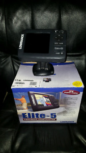 Fishfinder with gps with nav card