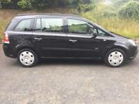 Vauxhall zafira 1.6 . 7 seater full service history