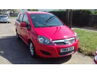 2014 Low mileage Vauxhall Zafira cdti