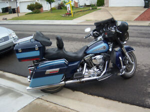 "1"" LOWERED HARLEY ELECTRA GLIDE CLASSIC DECKER"