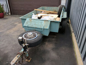 Home made Double Axle Trailer