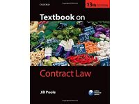 Textbook on Contract Law 13th Edition Jill Poole