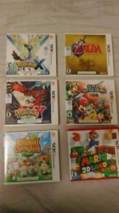 3ds Games Pokemon Zelda Mario