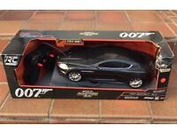 Nikko RC radio control 27mhz Aston martin DBS 007 James Bond quantum of solace car 2015 sound fx Toy