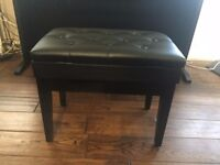 Deluxe Piano Stool with Storage