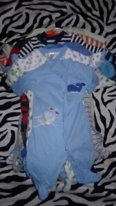 Box of 3-12 Months Baby Boy Clothing