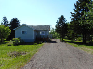 Extensively Reno'd 2 Bedroom Bungalow on 1.6 Acres of Land!