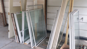 Single and thermal pane windows all sized