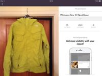 Womens Size 12 North Face Ski Jacket. Excellent condition