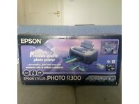 epson stylus R300 photo printer, never used