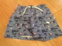 Boys 'George' Swimming Shorts. Age 5-6 Years.