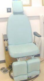 Chiropody/Podiatry/Pedicure/Medical Electric Hydraulic Chair + Workstation