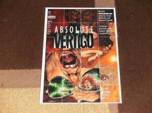 ABSOLUTE VERTIGO #1 (1995, DC) 1ST APPEARANCE OF THE PREACHER