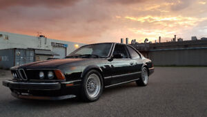 1987 BMW 635CSi L6- LOTUS WHITE - BBS - RECARO - make an offer
