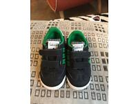 Boys trainers by adidas size 5