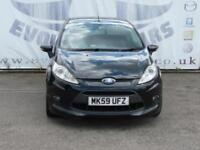 2009 FORD FIESTA 1.6 ZETEC S 3 DOOR FULL SERVICE HISTORY PRIVACY GLASS CD RADIO