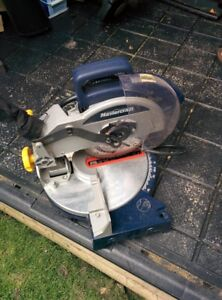 ROTARY SANDER AND MITER SAW