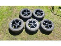 vw transporter t5 alloys and tyres