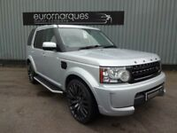 Land Rover Discovery 3.0 TDV6 GS 7 SEAT 4X4 AUTO PROJECT KHAN (silver) 2010