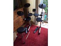 Electric drum kit in good condition read description