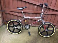 Mk2 chrome Raleigh burner old Skool bmx