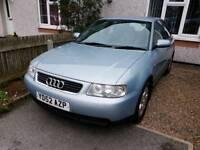 Audi A3 1.6 petrol. Long mot. Vgc.