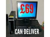 Pc desktop computer. Can deliver & install local