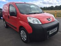 BARGAIN! NO VAT! Peugeot bipper van, long MOT, ready for work