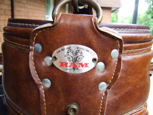 Vintage RAM Leather Golf Bag With Carry Strap - $25.00