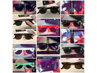 Best rayban wayfarer men's women's sunglasses aviator clubmaster new box bag