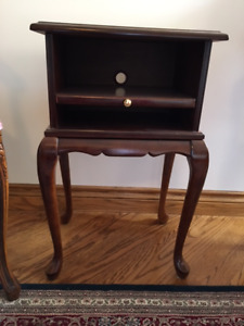 Side table and umbrella stand