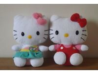 2 Hello Kitty Soft Toys